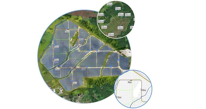 levantamiento topográfico en plantas fotovoltaicas