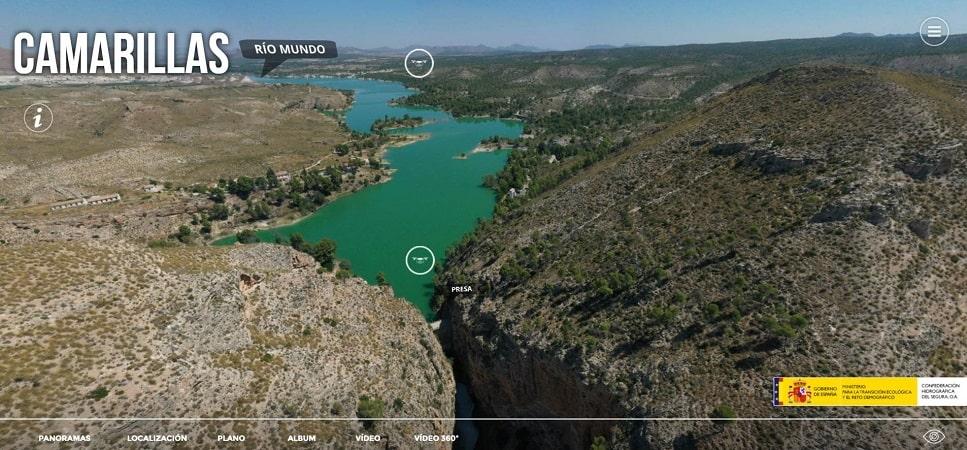 Tour Virtual Confederación Hidográfica del Segura